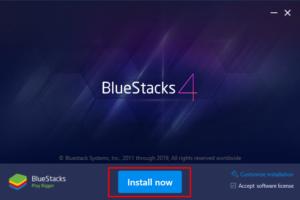 Download BlueStacks Offline Installer on Windows 10 - Step 1