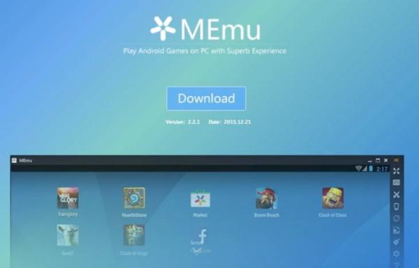 Memu Emulator on PC