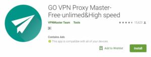 GO VPN For Windows