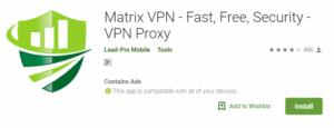Matrix VPN For Windows