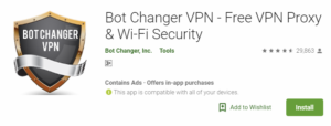 Bot Changer VPN For Windows